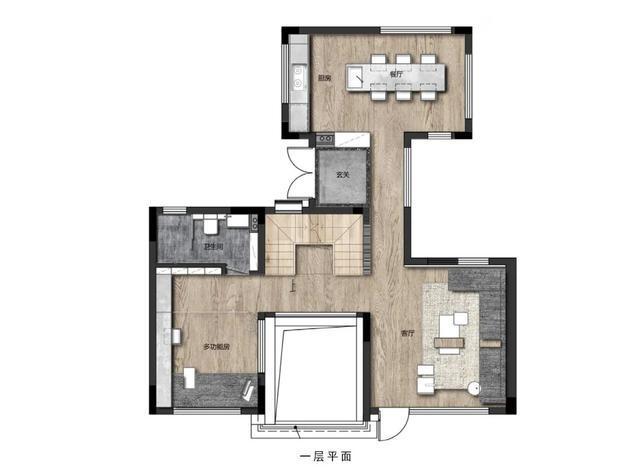 90㎡日式小别墅,极简禅意的空间,静雅舒适的生活体验