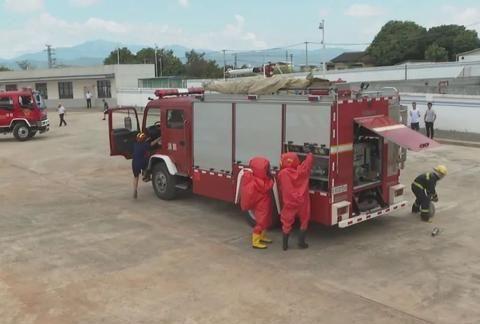 燃气泄漏?蕉岭应急救援演练提升处置能力