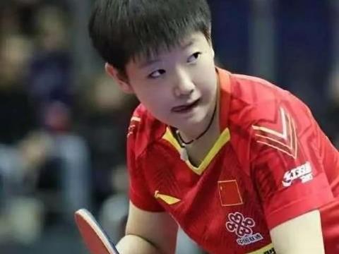 在奥运模拟赛上,孙颖莎如能够独占鳌头,她就有资格顶替刘诗雯了