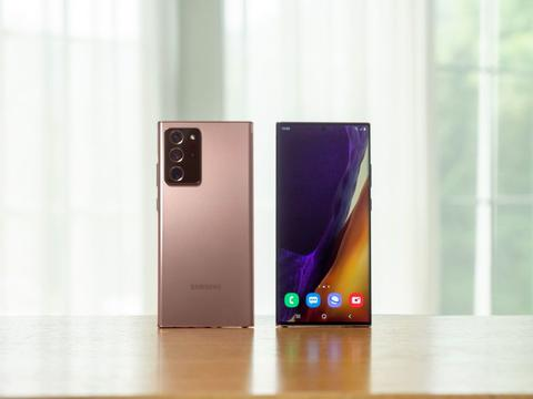 Galaxy Note20 Ultra屏幕使用了这些技术来降低功耗