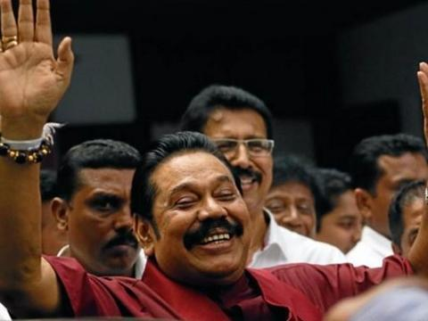 斯里兰卡执政党夺得大多议席 亲华总理喜获连任