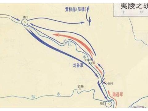 夷陵之战:书生将领陆逊竟打败了蜀国君主刘备