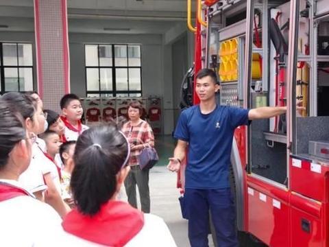 暑期科普实践:宜兴市中小学生走进消防救援大队