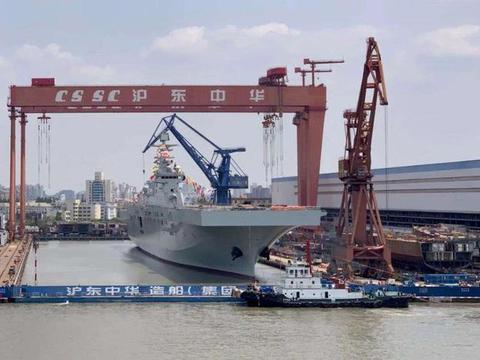 """075首航即过气,004型航母或已铺设龙骨,海军""""网红""""过气快"""