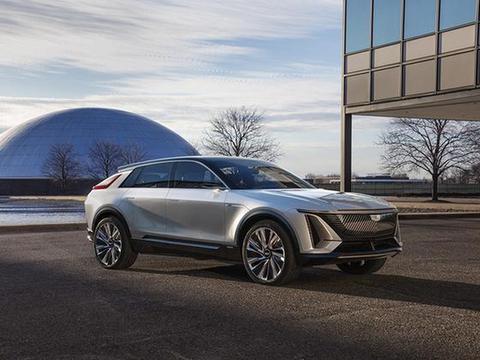 凯迪拉克LYRIQ亮相,旗下首款纯电动SUV,2023年正式上市