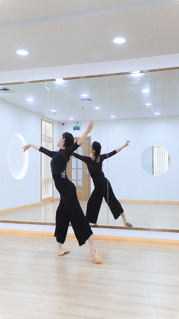 中国舞《芳华》教学,学舞蹈的人气质真的很好哦……