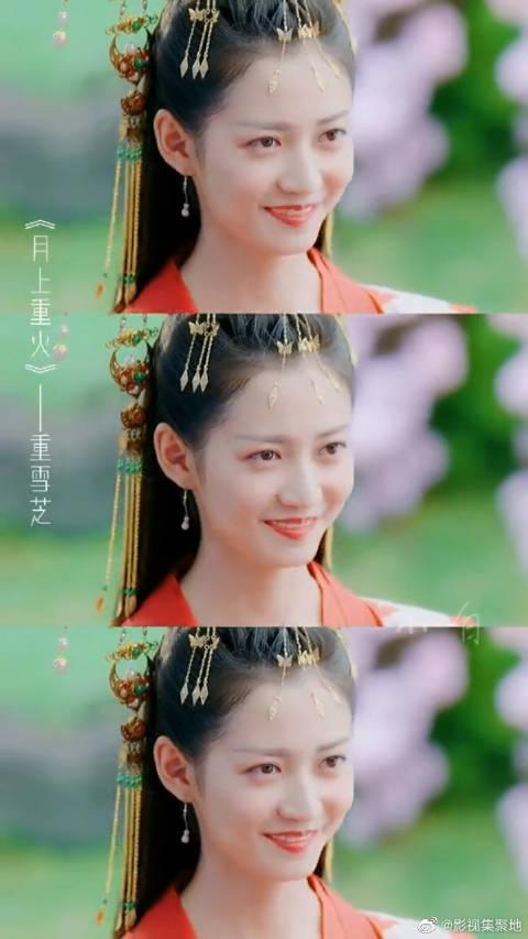 陈钰琪是吃可爱糖长大的吧 笑起来这么温柔,演古装剧真适合她!