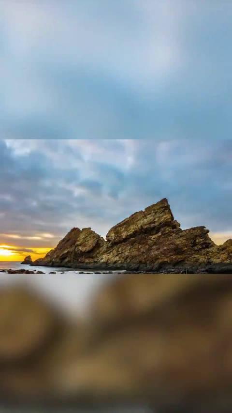 日出日落的绝美情景,也许是等待明天,也许是祈愿未来……