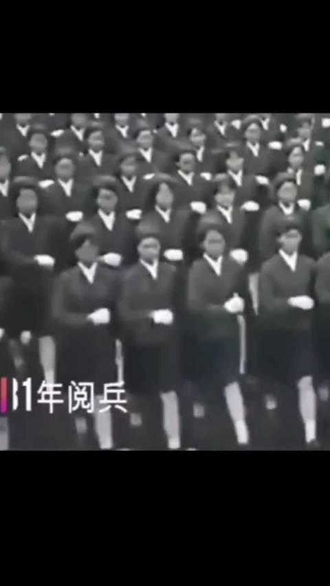 1981——2019回顾中国这些年的女兵阅兵式……