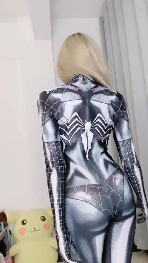 120斤的蜘蛛侠是什么体验