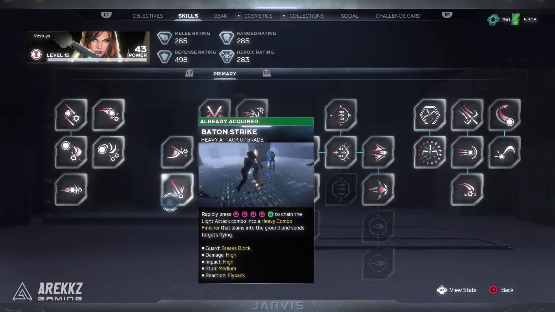 由Arekkz Gaming带来《漫威复仇者联盟》Beta测试中的全英雄技能