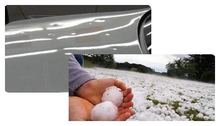 内蒙古突降冰雹,奔驰惨遭痛击,国产车:啥?下冰雹了?