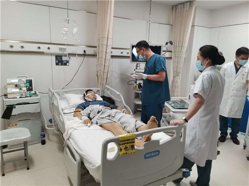 吉林国文医院多科室全力配合从死神手里抢救一患者生命