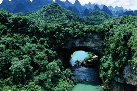 """中国""""最美""""的地质公园,游览区远超石林景区,深受大众喜爱"""