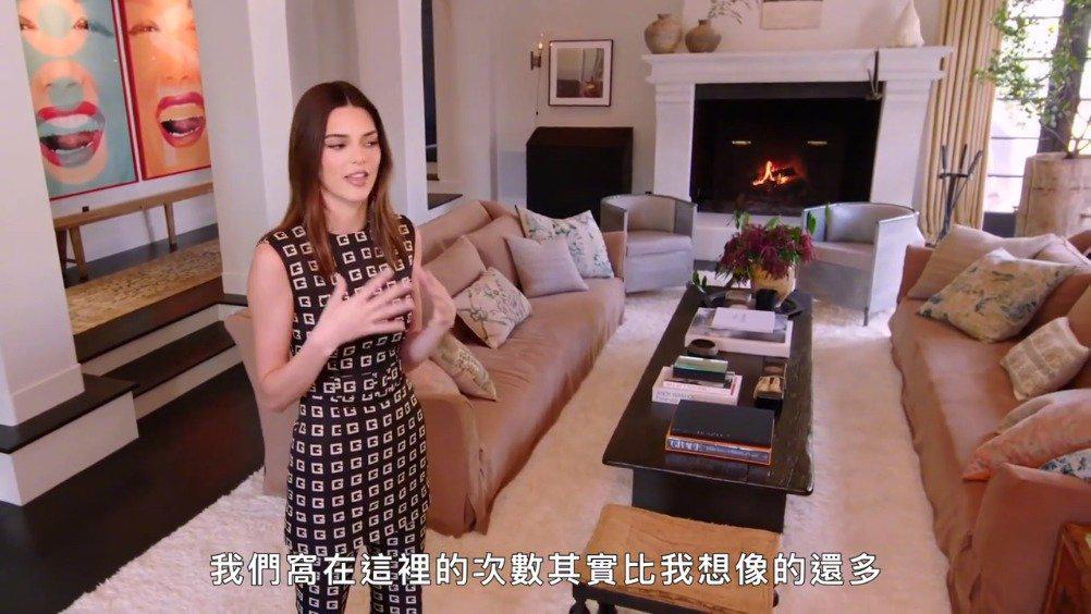 明星豪宅系列之肯豆Kendall Jenner在洛杉矶的别墅,简单大气……