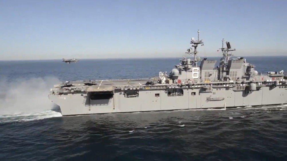 美国海军美利坚号两栖攻击舰军宣传片