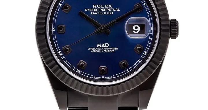 MAD Paris 推出全新劳力士 Datejust 41 哑光黑版本定制腕表