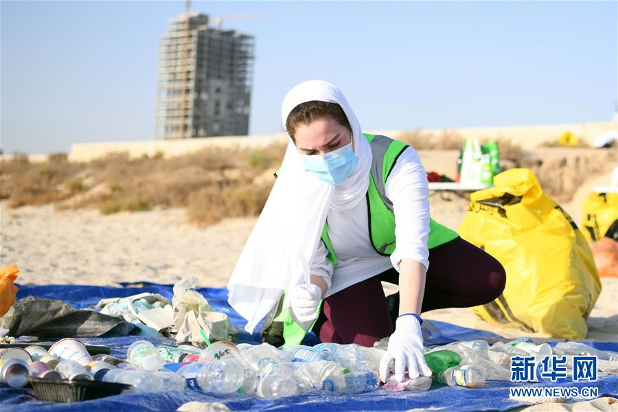 科威特:清洁海滩