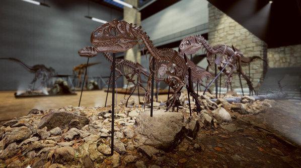 《恐龙化石猎人》(Dinosaur Fossil Hunter)是一款模拟器游戏