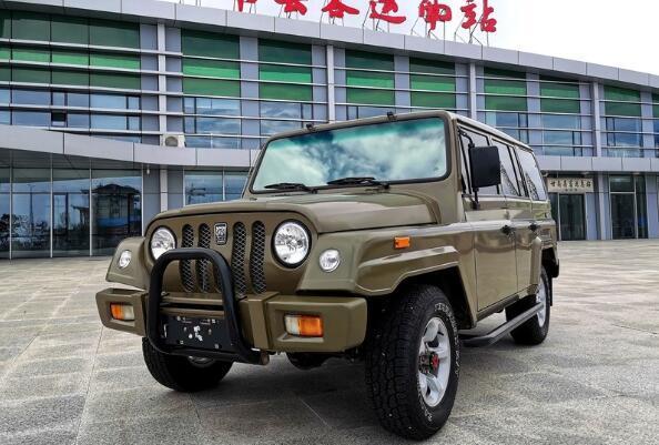 最便宜硬派SUV来袭!预售9万,牧马人外观+三菱动力,造型真霸气