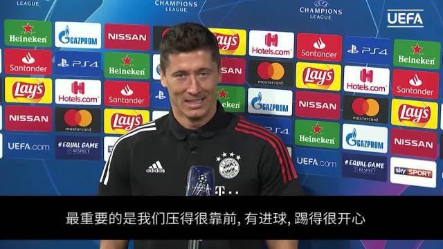 拜仁总比分7-1大破切尔西 赛后莱万却表示……