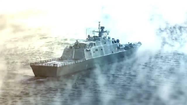 当地时间8月8日,美海军圣路易斯号(LCS19)濒海战斗舰入役