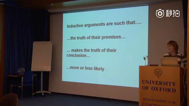 牛津大学公开课《批判性推理入门》……
