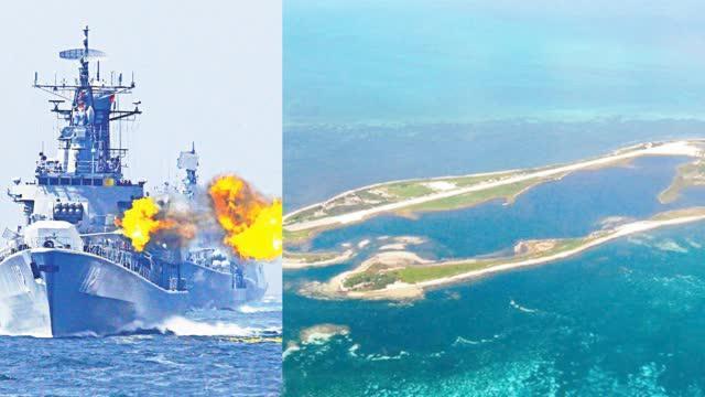 解放军8月要夺东沙岛?日本炒作 台湾紧急增兵
