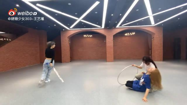 欢迎来到糖妹们小剧场,刘些宁、赵粤、王艺瑾上演三角虐恋……