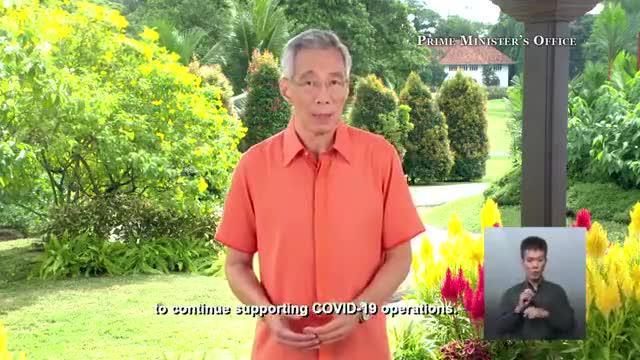 李显龙总理国庆演讲:冠病负面影响比经济危机更持久,新加坡做好应付严重经济衰退准备