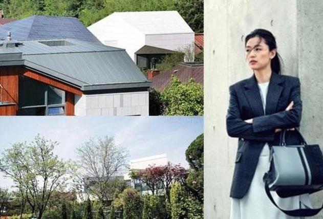 韩国女星全智贤的豪宅,仿佛住在森林公园