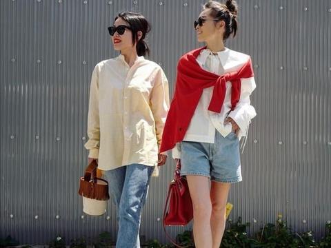 闺蜜装怎么穿?看日本这对姐妹花的搭配,时髦又吸睛,回头率超高