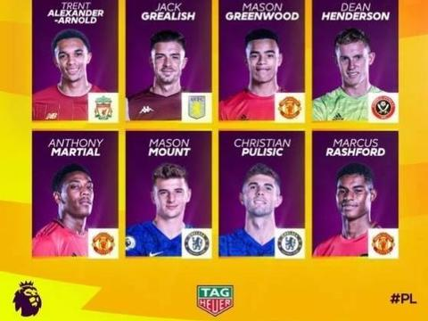 红魔复兴有望!英超最佳年轻球员候选,曼联4位球员入选