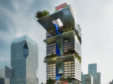 腾讯微信总部大厦,八大要素营造一个里程碑建筑