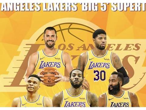 如果每一位球员都为自己的家乡效力,洛杉矶湖人会凑成BIG5