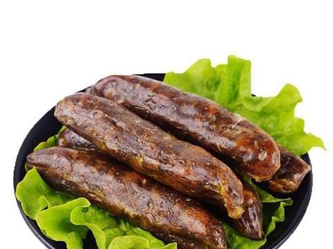 全国十大特色香肠。睢宁香肠,其香肠的名字都是皇帝吃过后御赐的