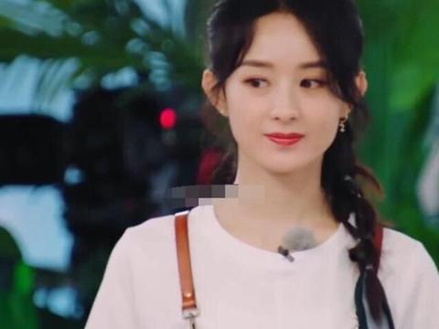 赵丽颖被顾客夸眼睛大,谁注意对她脸部的评价?这才是大实话