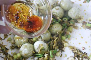 云南特色家常菜,汤圆的新吃法,味道甜鲜给味蕾的另一番境界
