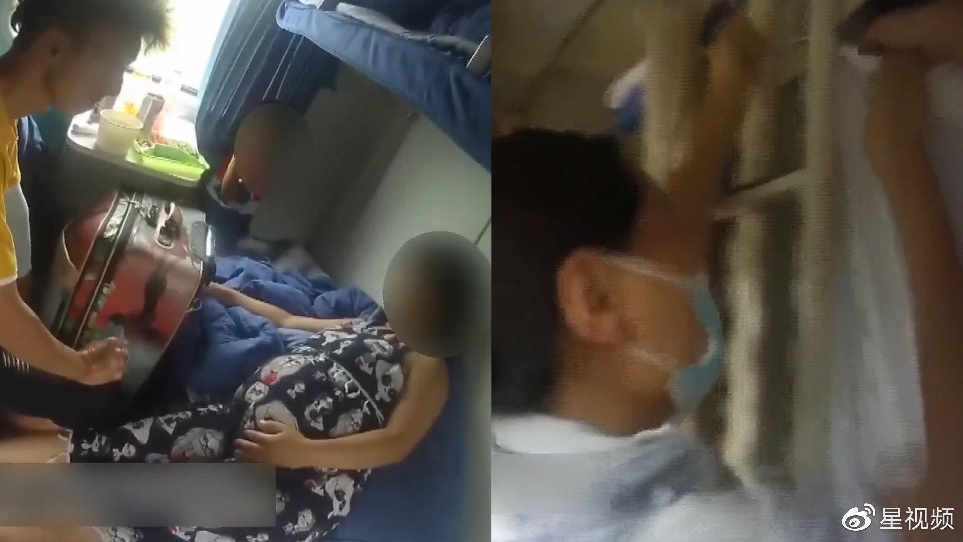孕妇将临盆,列车员用被套搭建临时产房,一声啼哭后众人叫好