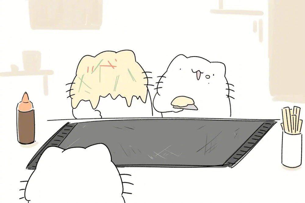 日本画师からめる的沙雕猫咪小视频合辑!