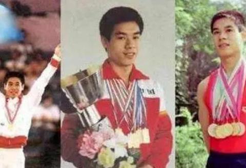 体操王子李宁,身价百亿登全球富豪榜,娇妻很有气质