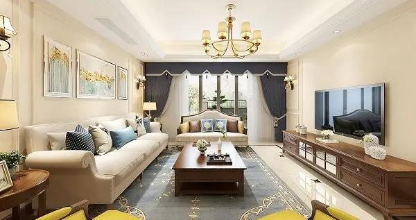300平米的五居室,运用美式的装修风格效果是怎样的?