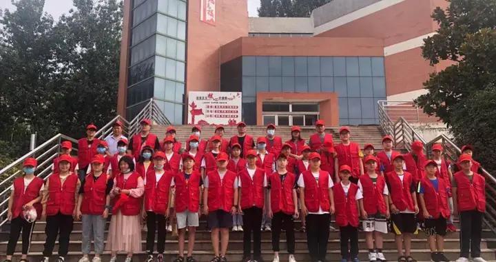 濮阳市第六中学微美先锋、朝阳志愿者服务队行动起来