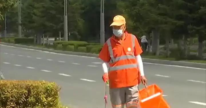 长春市为环卫工人做好消暑后勤保障