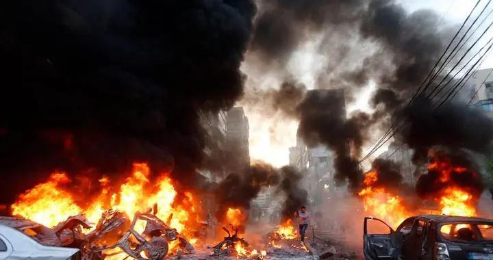 黎巴嫩突发大爆炸,规模接近低当量核弹,中使馆发紧急通告