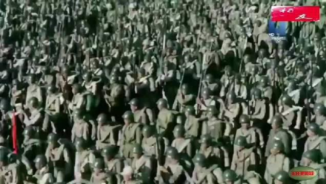 苏联记者冒死拍摄,我人民军和国党腐败军激战的视频