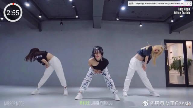 舞步带劲给力,这支健身舞是我见过最好看的版本了!
