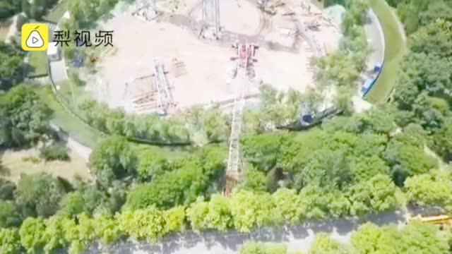 西安电子科技大学回应校内塔吊倒塌:工作人员操作失误……