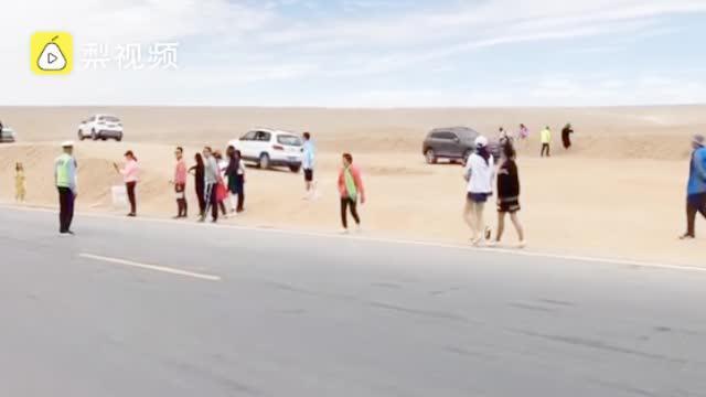 莫把网红变血红!青海网红公路因拍照发生8起交通事故……