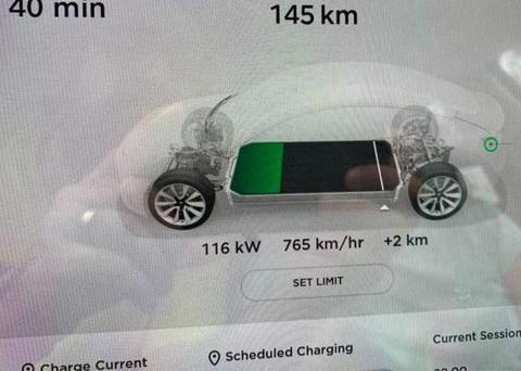 特斯拉在欧洲限制快充功率,充电功率都不能超过120kW